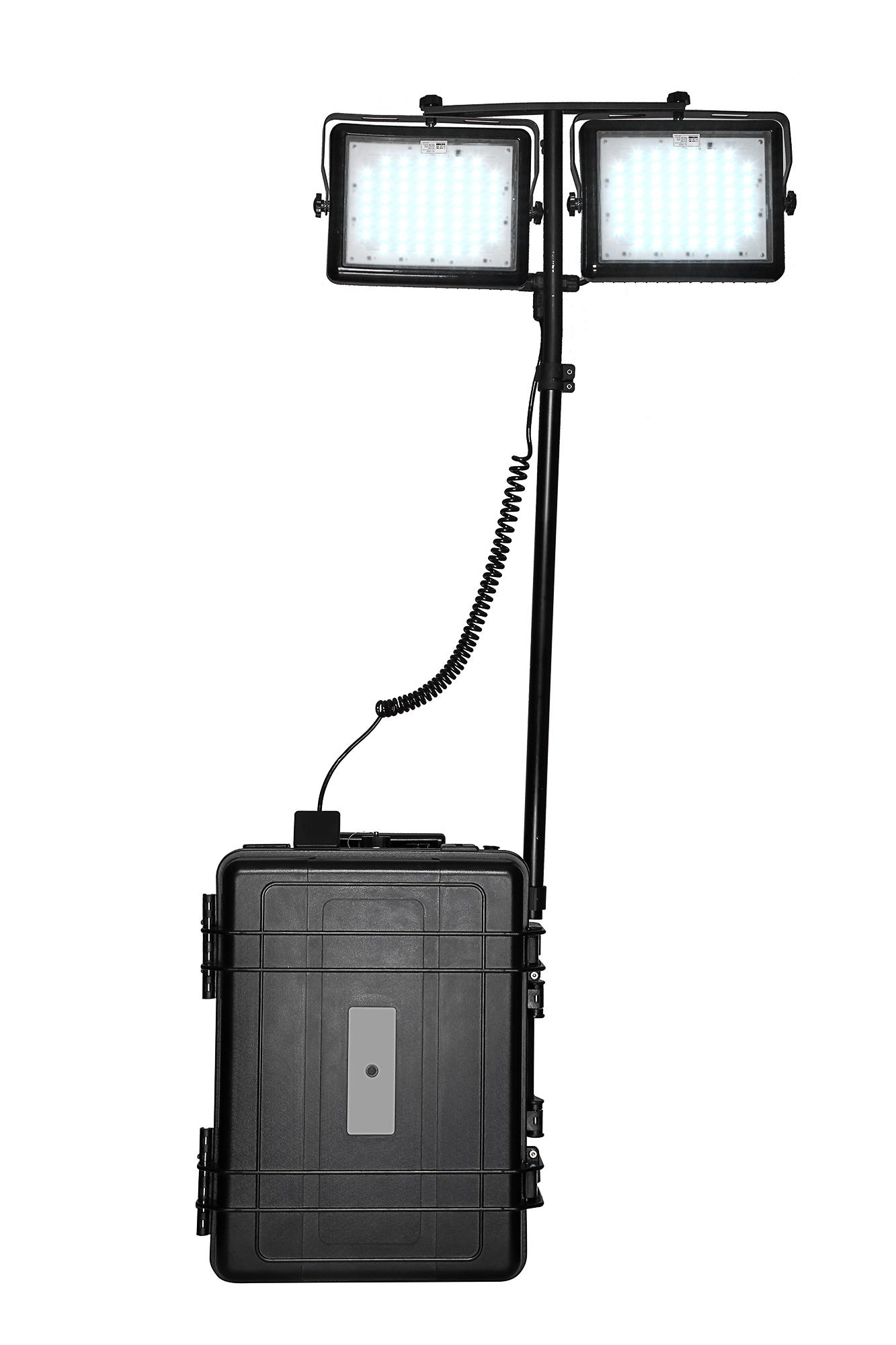 Générateur électrique solaire avec LED 2*60W RDG P3000/6000
