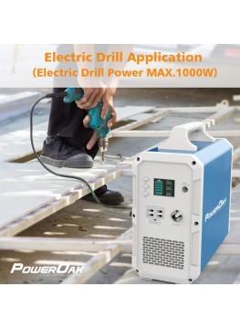 PowerOak PS10 Batterie externe 220V grande capacité solaire 2400Wh