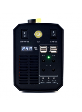 RDG P500 Batterie externe 220V solaire grande capacité Onduleur UPS