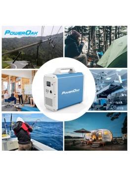 PowerOak PS9 Batterie externe 220V grande capacité solaire 1800Wh