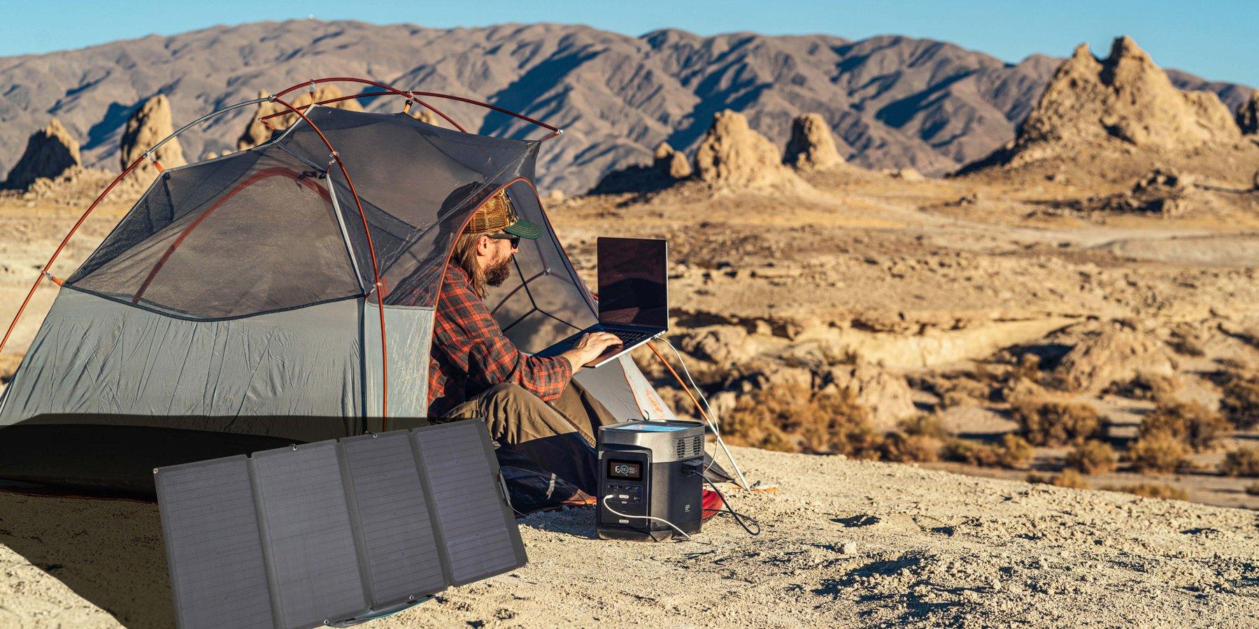Panneau solaire 160W EcoFlow
