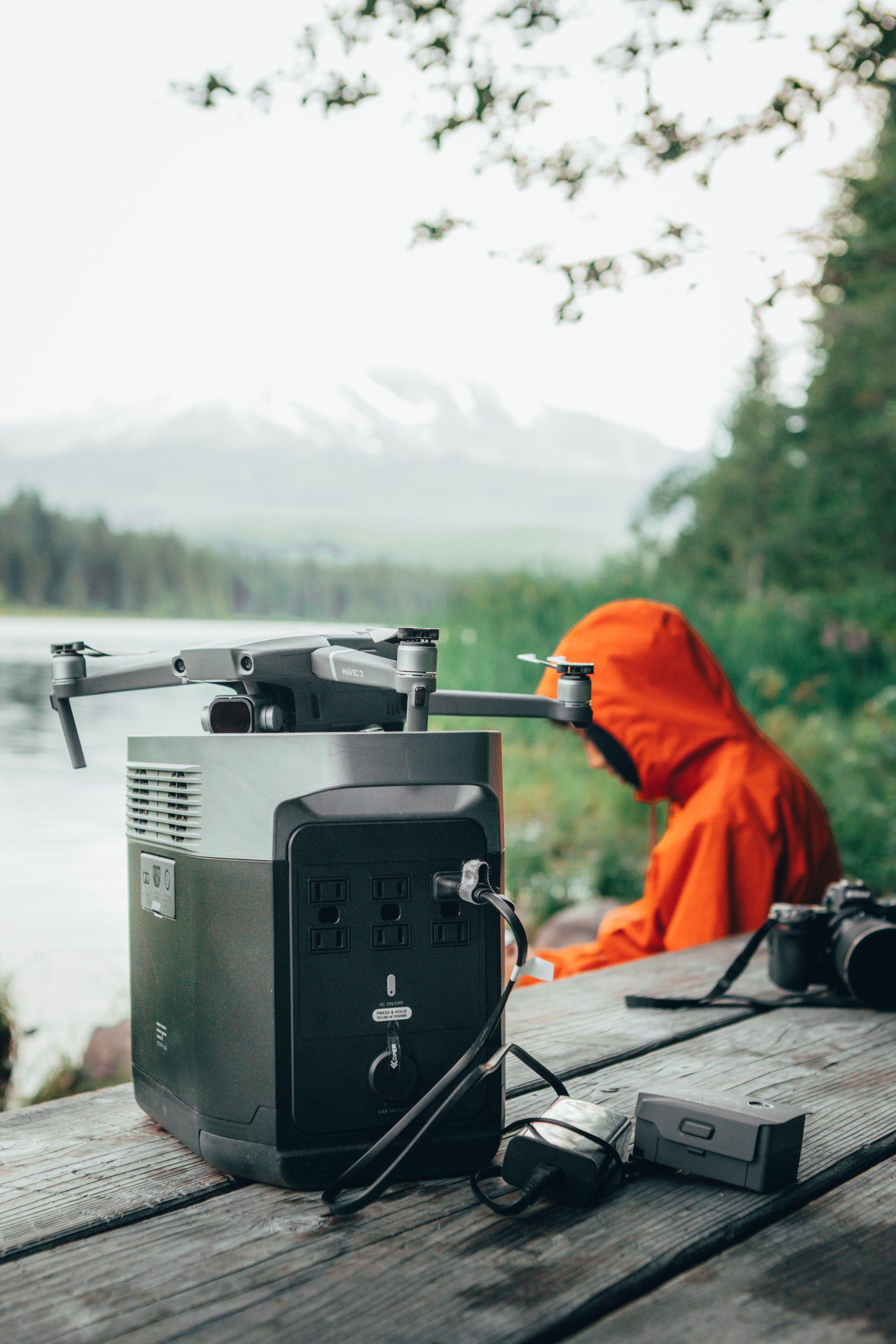 Delat Portable station