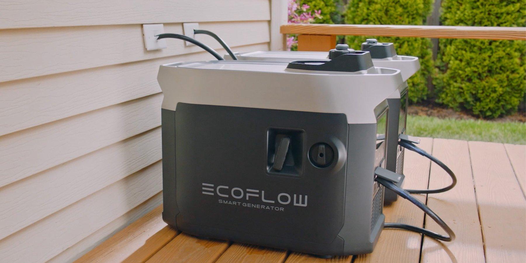 Delta pro ecoflow double batterie smart recharge habitation isolée, camping, van, camping-car